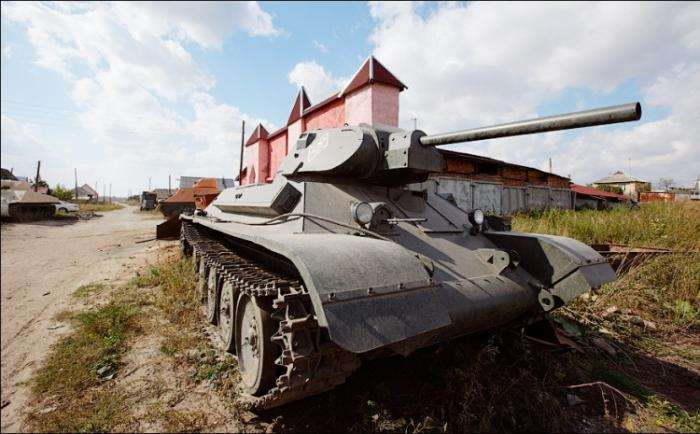 Танкодром своими руками (14 фото)
