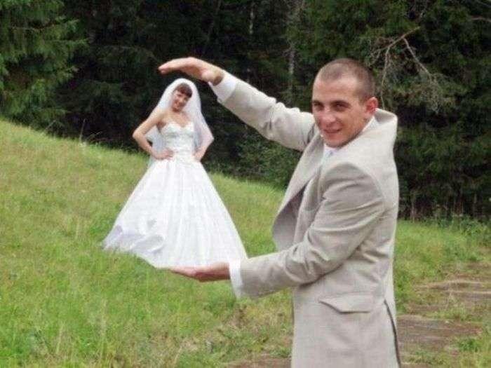 Невесты на ладошке (15 фото)