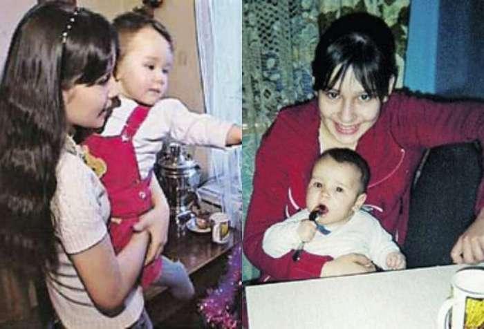 Самые молодые мамы России и их судьба-11 фото-