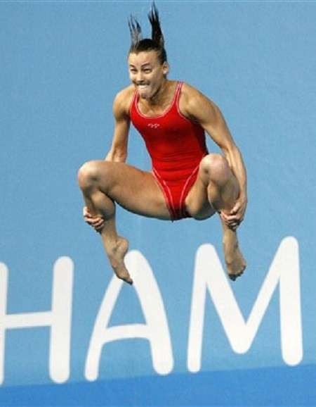 Очень смешные фото прыгунов в воду-33 фото-