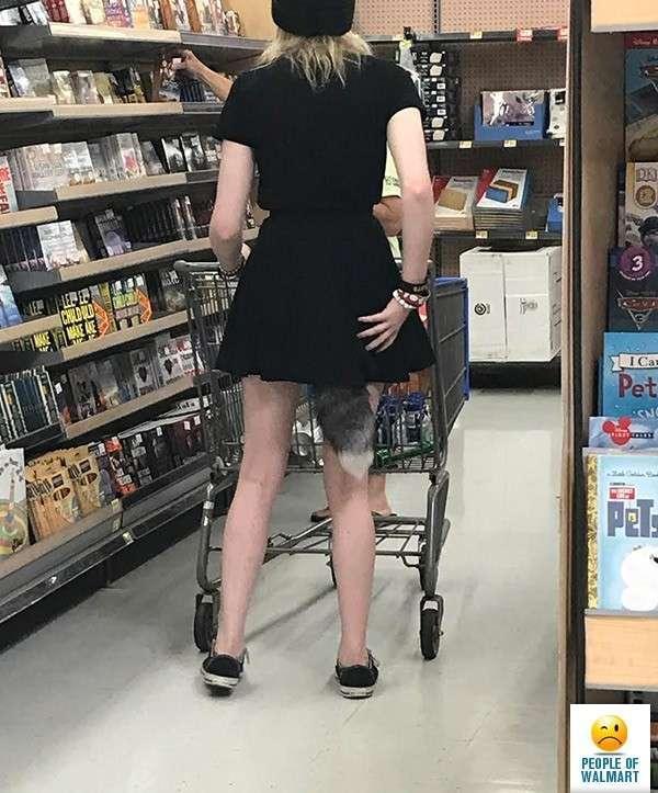Спятившая Америка или чокнутые покупатели американских супермаркетов-22 фото-