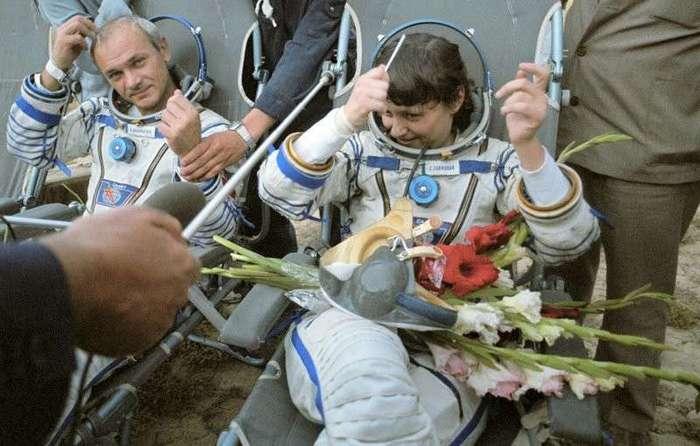 Как космонавт Савицкая утёрла нос Америке-9 фото-