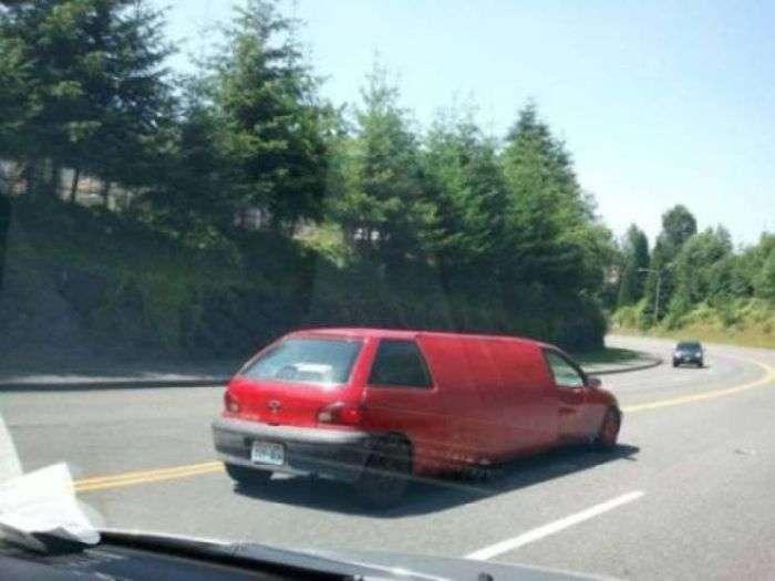 Необычные и странные автомобили-32 фото-
