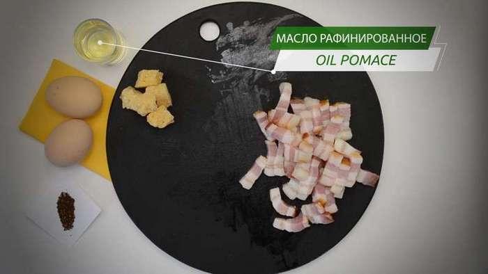 Спагетти алла карбонара, классическая римская паста-15 фото-