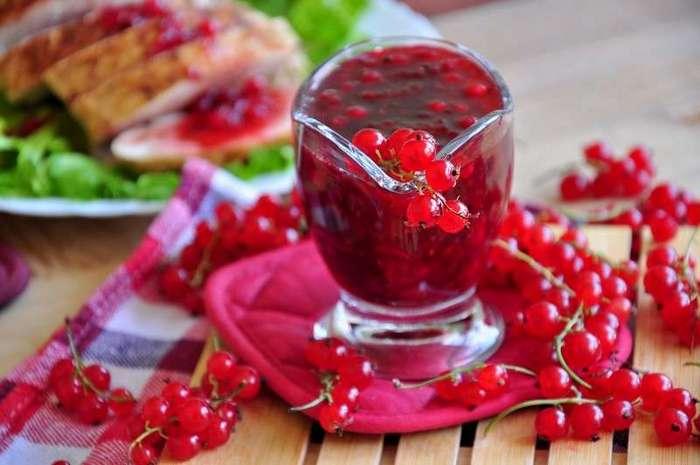 Ткемали из красной смородины-2 фото-