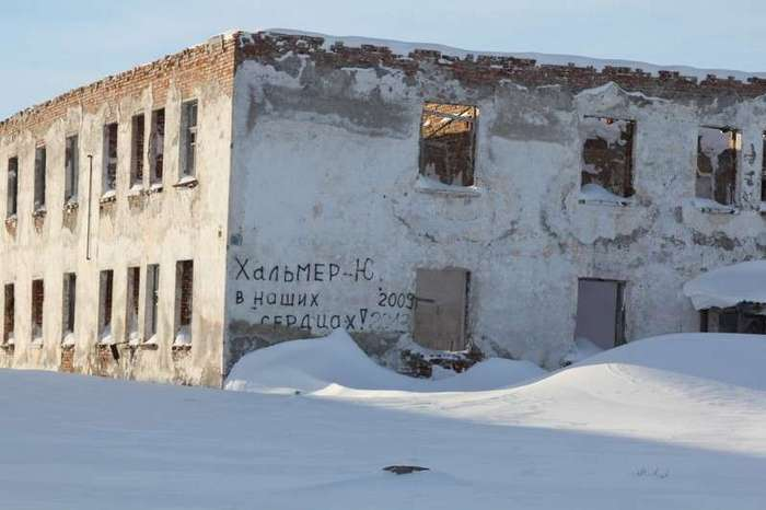 Города-призраки на карте России. Часть 3: Хальмер-Ю-31 фото + 2 видео-