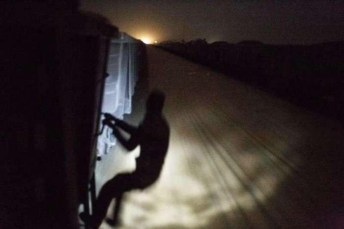 Безумное путешествие через Сахару с овцами и железной рудой-19 фото-
