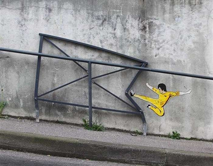 30 самых гениальных актов вандализма-30 фото-