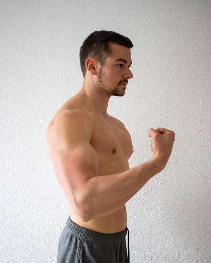 Самый горячий веган в мире наращивает мышцы растительными белками-16 фото-