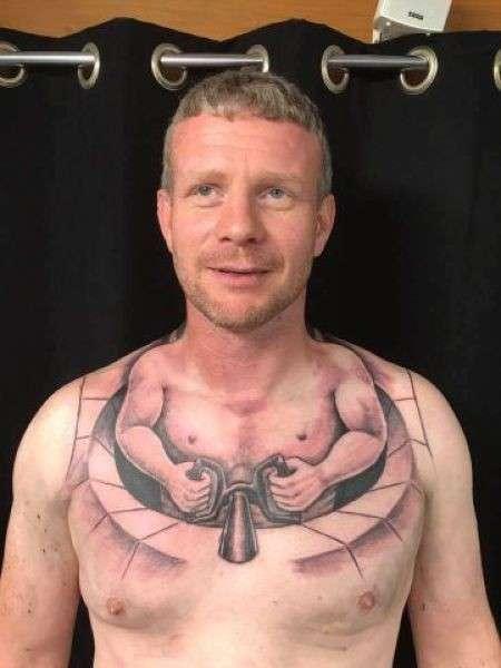 Веселая татуировка дальнобойщика-5 фото-