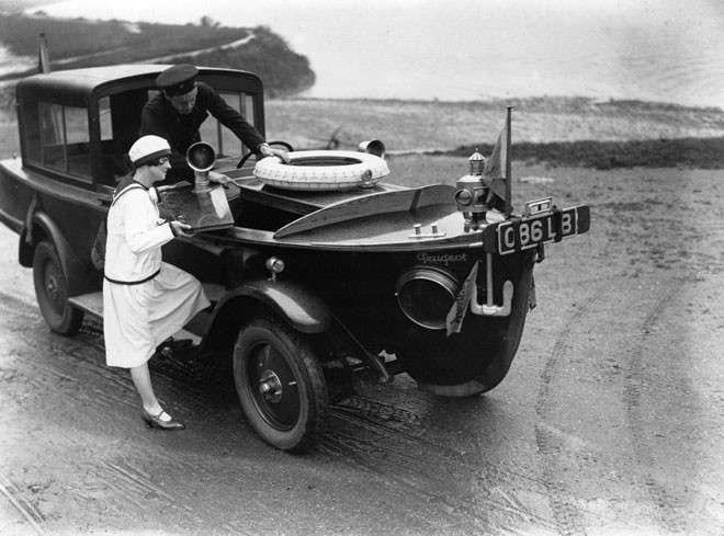 Странные транспортные аппараты из прошлого-15 фото-