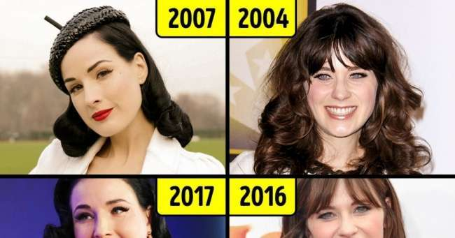 13знаменитостей, которые неменяют имидж десятилетиями