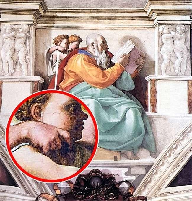 10деталей, которые мыникогда незамечали назнаменитых картинах