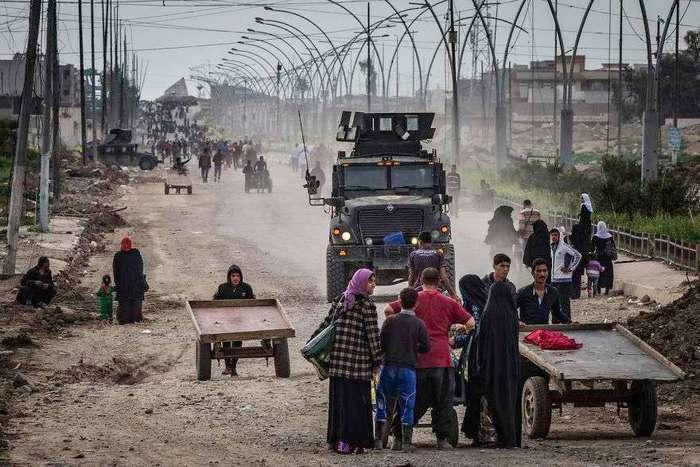 Убить или быть убитым: остросюжетные кадры антитеррористической операции в Ираке