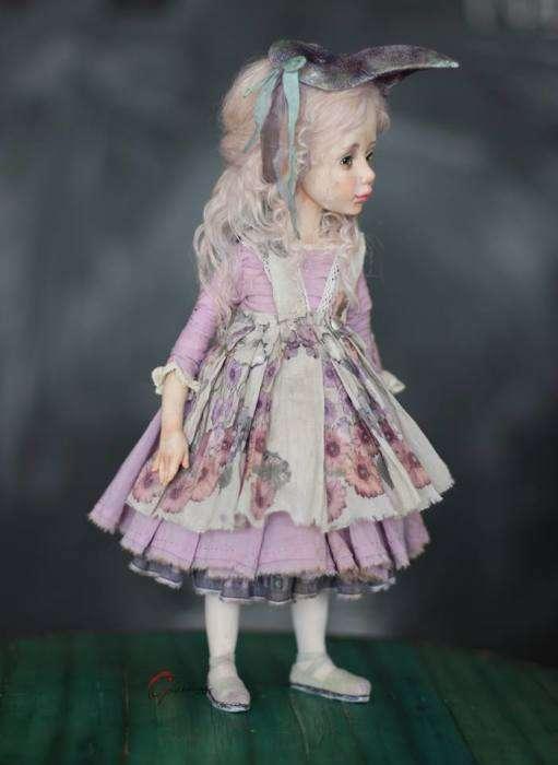 Мир авторских кукол Елены Оплаканской