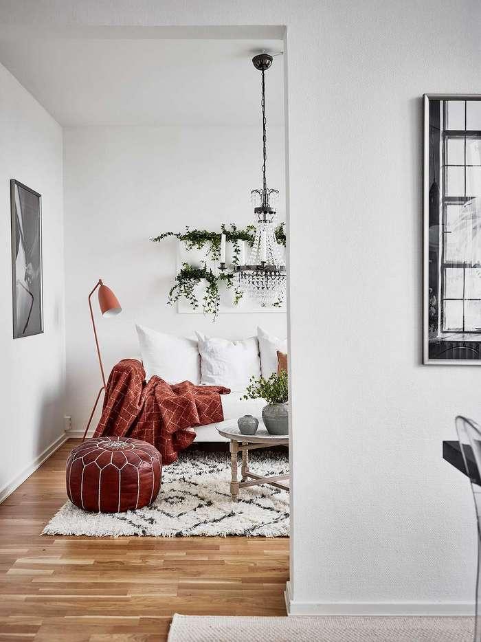 Минимализм в однокомнатной квартире