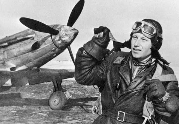 Советские летчики-асы времен ВОВ