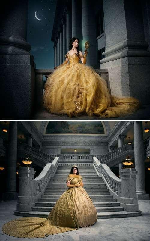 Фотопроект: принцессы Диснея спустя годы