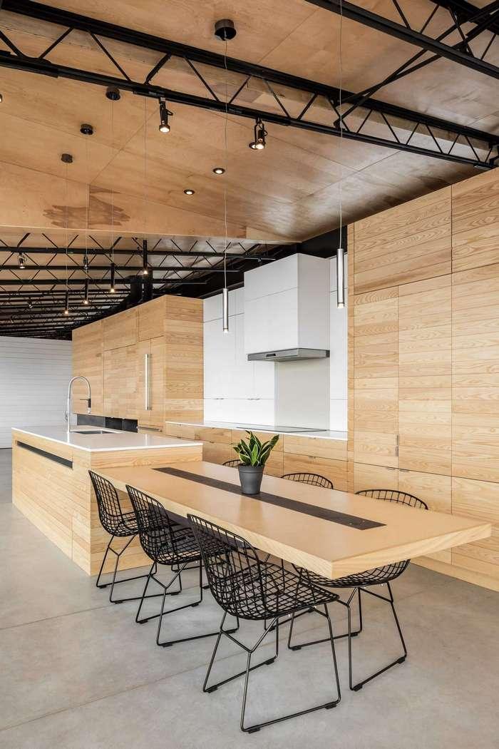 Дизайн современного дома на берегу океана в Канаде