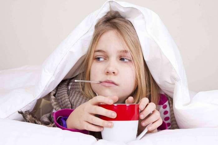 Заболел ребенок – -болеет- и мама