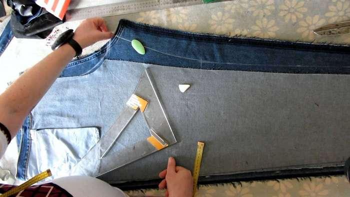Как можно использовать старые джинсы?