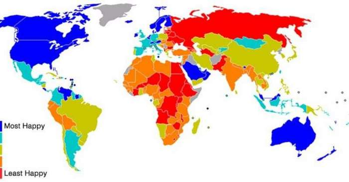 Удивительные карты мира, которые не изучаются в школе