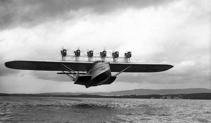 Грандиозный летающий дворец-лодка -Дорнье-
