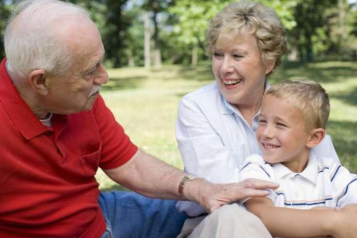 Каникулы у бабушки
