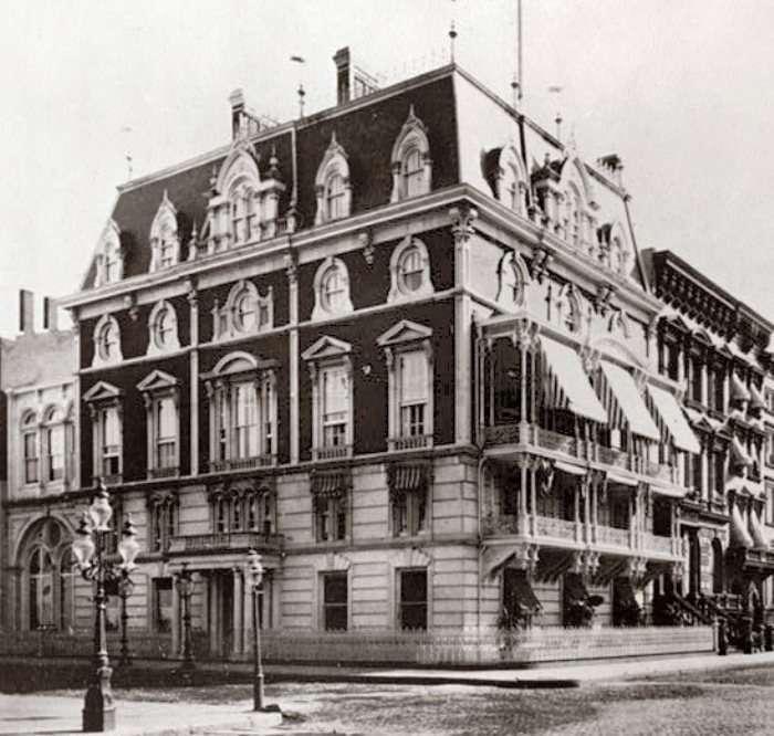 История появления коктейля -Манхэттен-