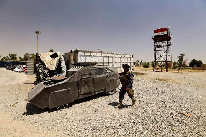 В освобожденном Мосуле нашли модифицированные автомобили из -Безумного Макса-