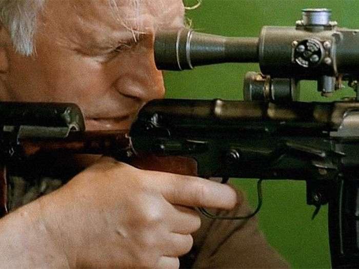 Как снимался фильм -Ворошиловский стрелок-