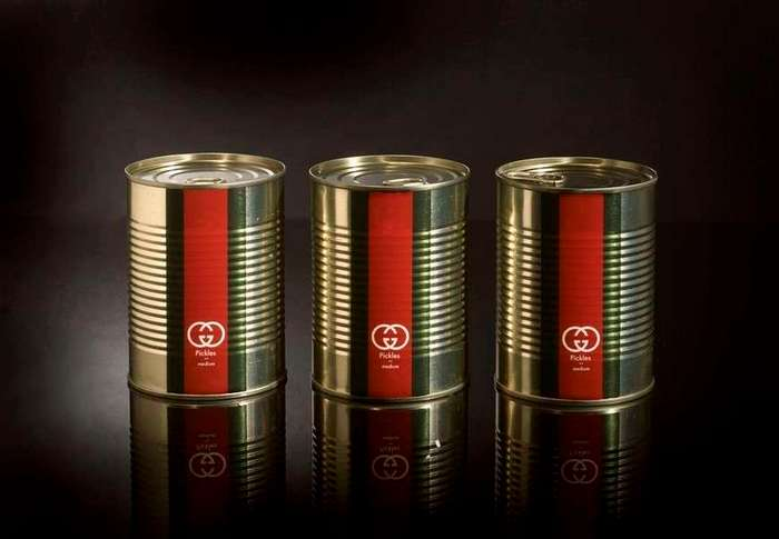 Если бы популярные продукты создавались известными брендами