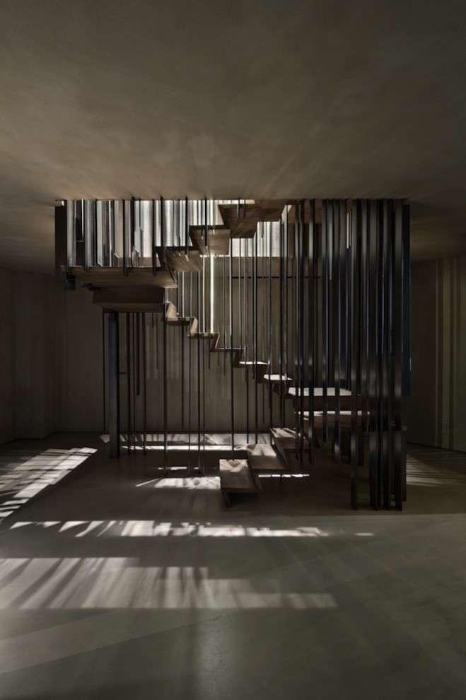 Самые необычные дизайнерские лестницы