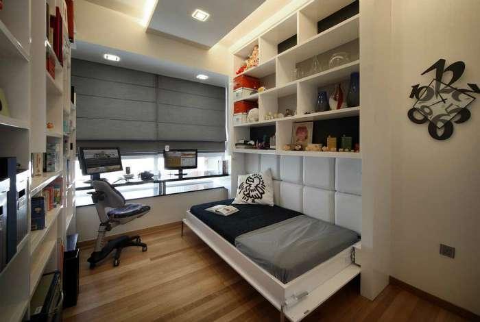 18 примеров трансформируемой мебели с откидными кроватями, которые отлично подходят для малогабаритного жилья