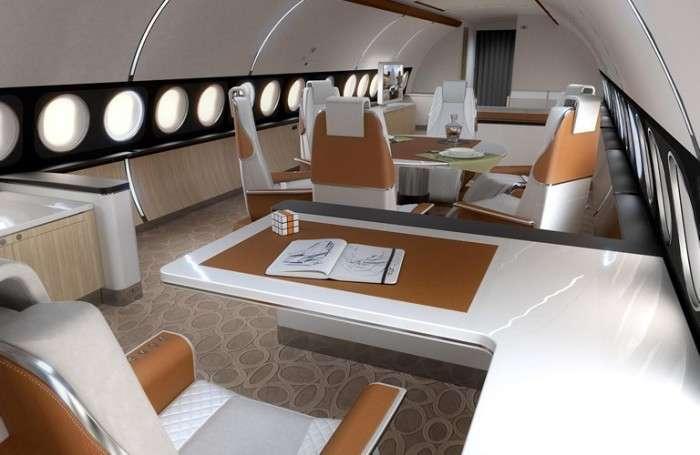 Каюта Infinito покажет пассажирам самолетов небо над ними