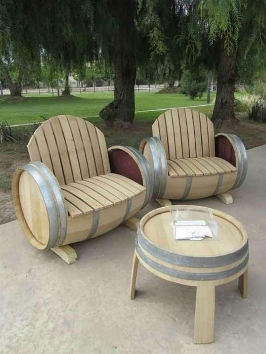 18 мебельных идей, которые захочется воплотить на собственной даче