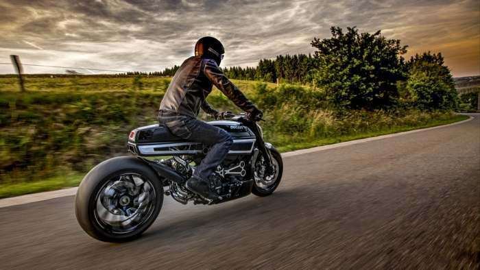 Мотоцикл Thiverval, который удивил всех своей мощностью и стилем