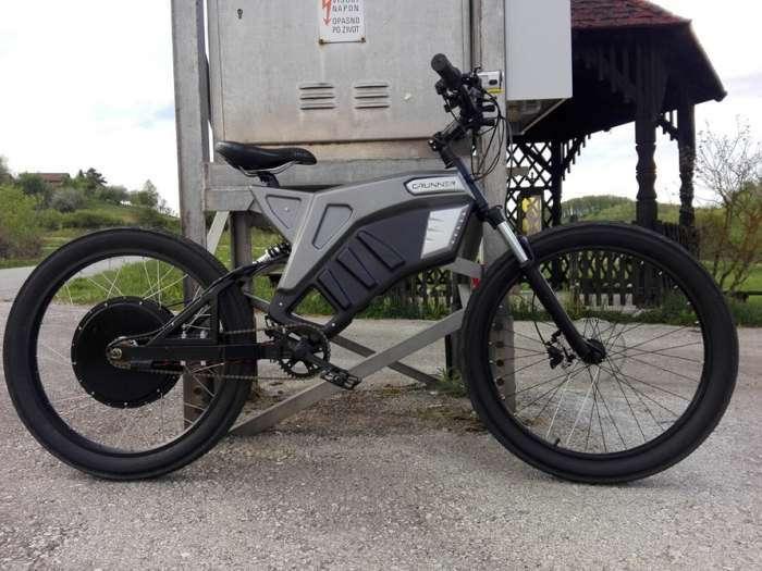 Электровелосипед Grunner, который поможет добраться до работы, минуя пробки