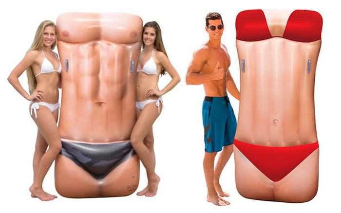 10 самых забавных надувных матрасов, с которыми не останешься не замеченным