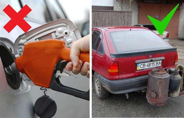 Украинец переоборудовал свой автомобиль и теперь хорошо экономит на топливе