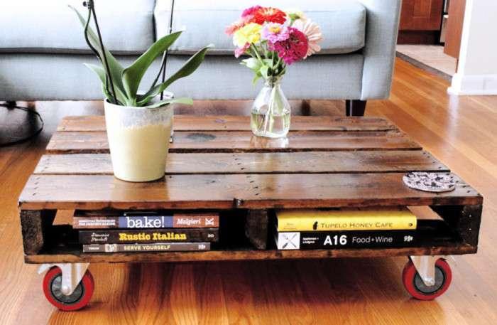 11 изделий из паллет, которые украсят квартиру, дом и дачу