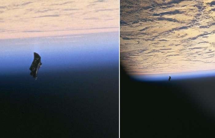 Тайна -Черного рыцаря-: космический мусор или внеземной спутник?