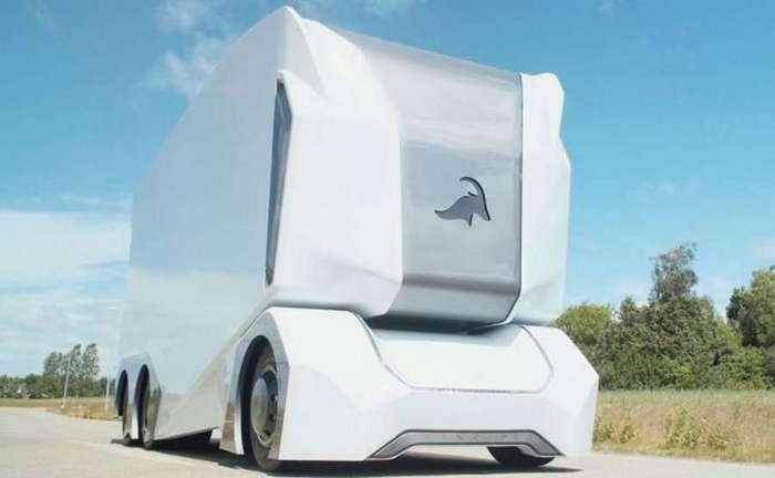 T-Pod: самоуправляемый грузовик будущего (5 фото)