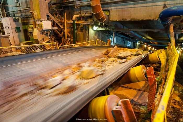 Как добывают золото на Олимпиаднинском месторождении (52 фото)