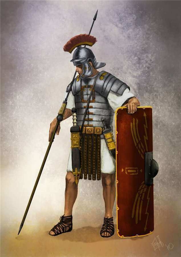 Неожиданные факты из жизни римских легионеров (25 фото)