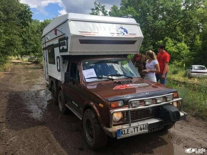 Интересный проект -АвтоВАЗа-: автодом на базе легендарной -Нивы- (5 фото)