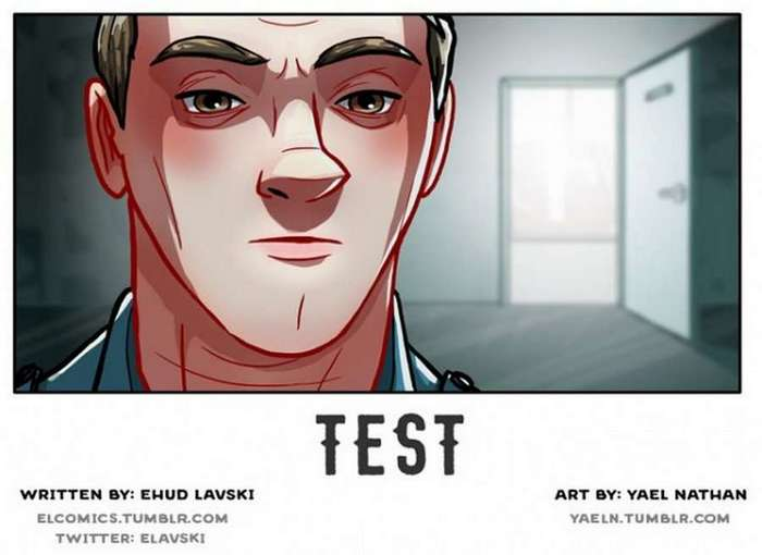 Комикс со смыслом: Самый Главный Тест (19 пикч)