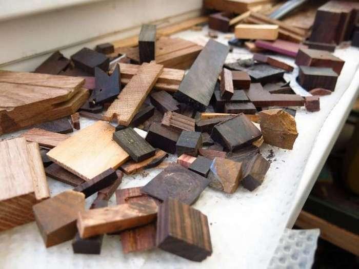 Нельзя просто взять и выбросить все обрезки деревяшек&8230;