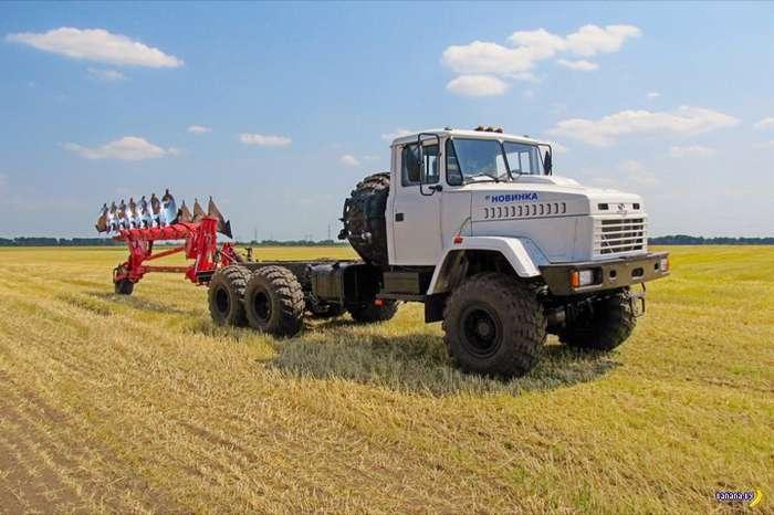 Нет трактора? Есть КрАЗ!