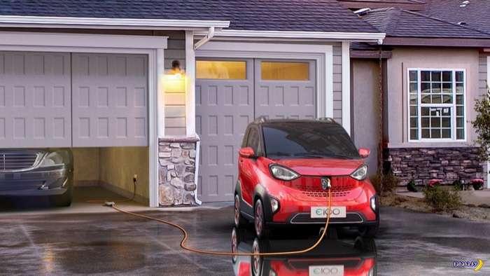 Миниатюрный электромобиль за $5,300